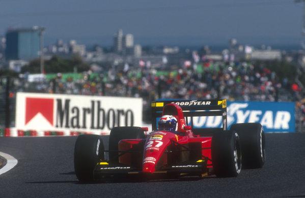 1991 Japanese Grand Prix.Suzuka, Japan.18-20 October 1991.Alain Prost (Ferrari 643) 4th position.Ref-91 JAP 18.World Copyright - LAT Photographic