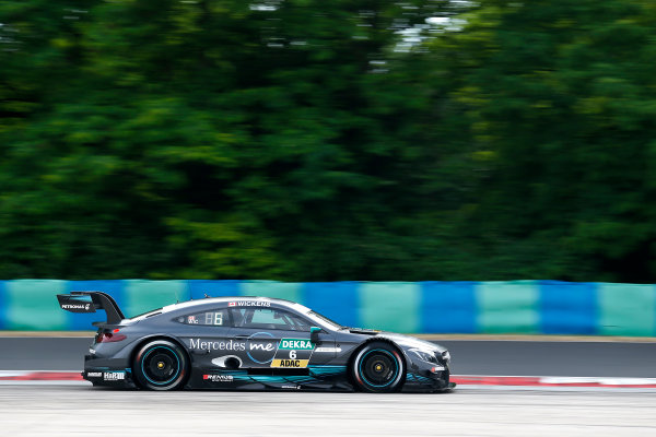 2017 DTM Round 3 Hungaroring, Budapest, Hungary. Friday 16 June 2017. Robert Wickens, Mercedes-AMG Team HWA, Mercedes-AMG C63 DTM World Copyright: Alexander Trienitz/LAT Images ref: Digital Image 2017-DTM-R3-HUN-AT2-0255