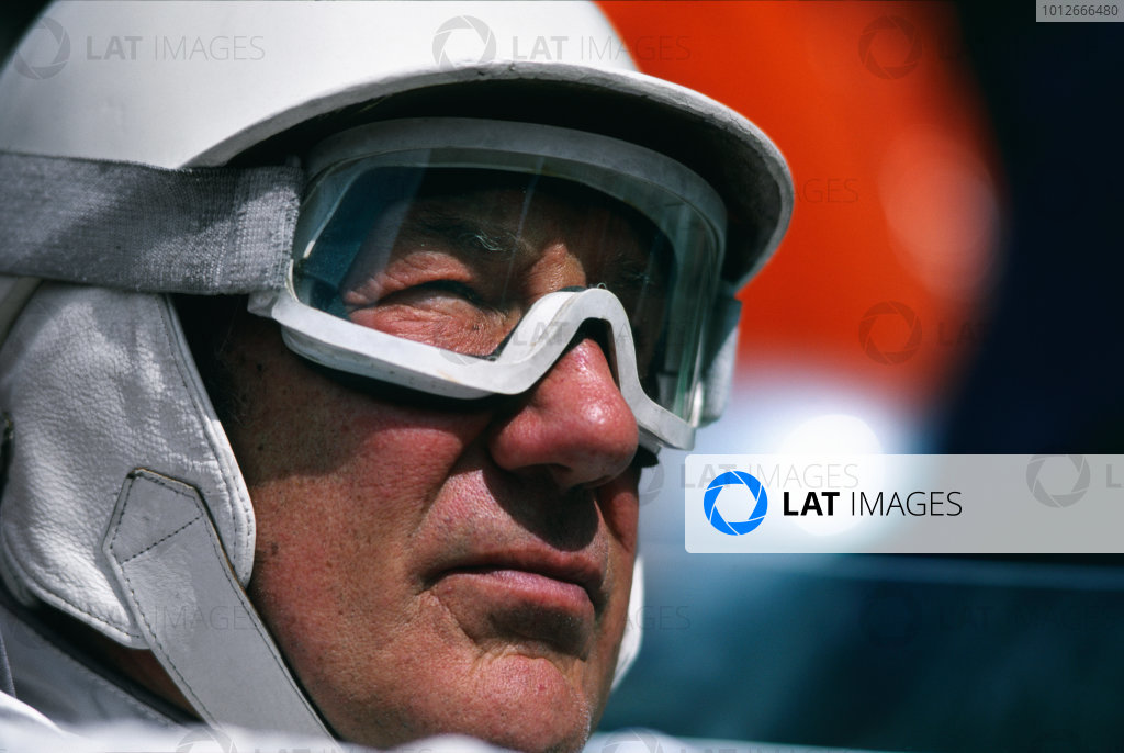 Le Mans, France. 14th - 18th June. Stirling Moss, Portrait.World Copyright: LAT Photographic.