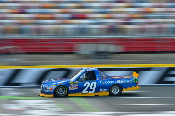 NASCAR Camping World Truck Series North Carolina Education Lottery 200 Charlotte Motor Speedway, Concord, NC USA Thursday 18 May 2017 Chase Briscoe, Cooper Standard Ford F-150 World Copyright: John K Harrelson LAT Images ref: Digital Image 17CLT1jh_00258