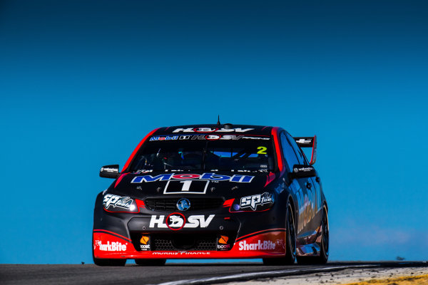 2017 Supercars Championship Round 4.  Perth SuperSprint, Barbagallo Raceway, Western Australia, Australia. Friday May 5th to Sunday May 7th 2017. Scott Pye drives the #2 Mobil 1 HSV Racing Holden Commodore VF. World Copyright: Daniel Kalisz/LAT Images Ref: Digital Image 050517_VASCR4_DKIMG_1526.JPG