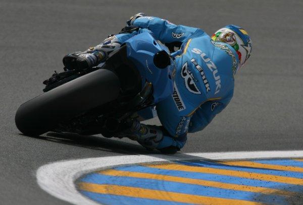 2008 MotoGP Championship.Le Mans, France. 15th - 18th May, 2008.Loris Capirossi Rizla Suzuki.World Copyright: Martin Heath / LAT Photographic