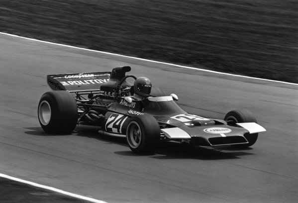 Brands Hatch, England.13-15 July 1972.Henri Pescarolo, (Politoys FX3-Ford), retired, action.World Copyright - LAT PhotographicRef: B/W Print.