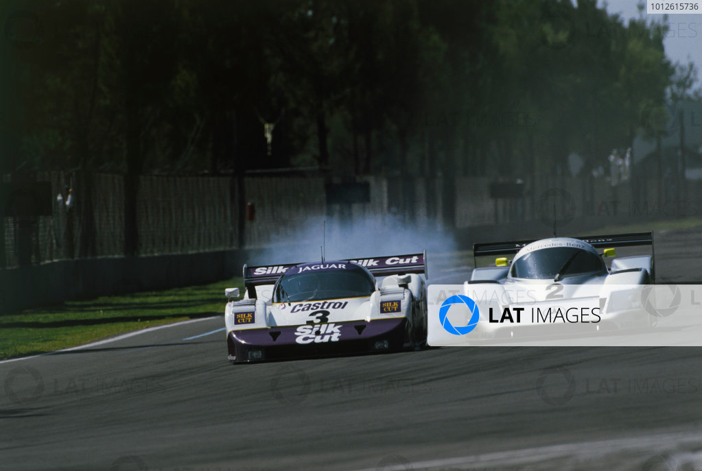Mexico 480 Kms. Mexico City, Mexico. 7th October 1990. Rd 9