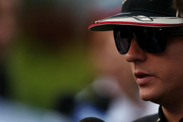 Marina Bay Circuit, Singapore.20th September 2012.Kimi Raikkonen, Lotus GP. World Copyright: Andy Hone/LAT Photographicref: Digital Image HONZ1123