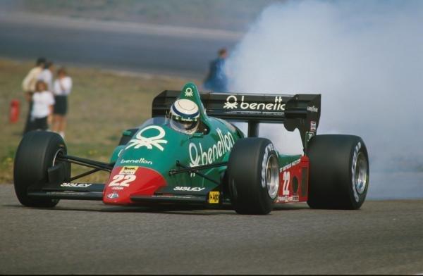 Ricardo Patrese (ITA) Alfa Romeo 184T, DNF. Dutch Grand Prix, Zandvoort, 26 August 1984.