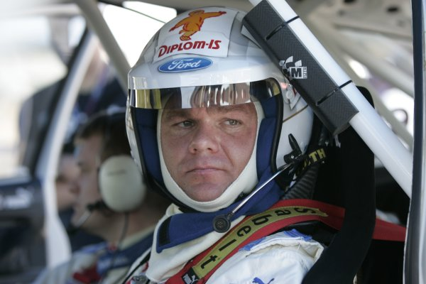 2005 FIA World Rally Championship  Round 5, Rally of Italy, Sardinia. 29th - 1st May April 2005. Henning Solberg, portrait. World Copyright: Mcklein/LAT Photographic Ref: Digital Image Only.