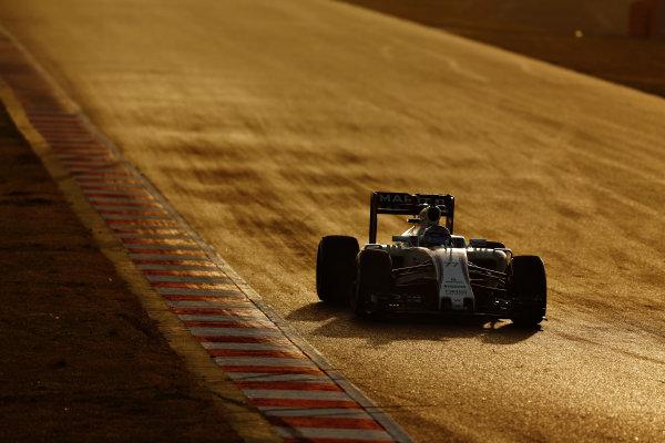 Circuit de Catalunya, Barcelona, Spain Monday 22 February 2016. Valtteri Bottas, Williams FW38 Mercedes. World Copyright: Sam Bloxham/LAT Photographic ref: Digital Image _SBL5543