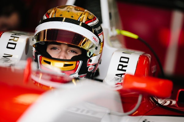 2016 GP3 Series Shakedown. Magny Cours, France. Thursday 3 March 2016  Charles Leclerc (MON) ART Grand Prix   World Copyright: Malcolm Griffiths/LAT Photographic. ref: Digital Image F80P9514