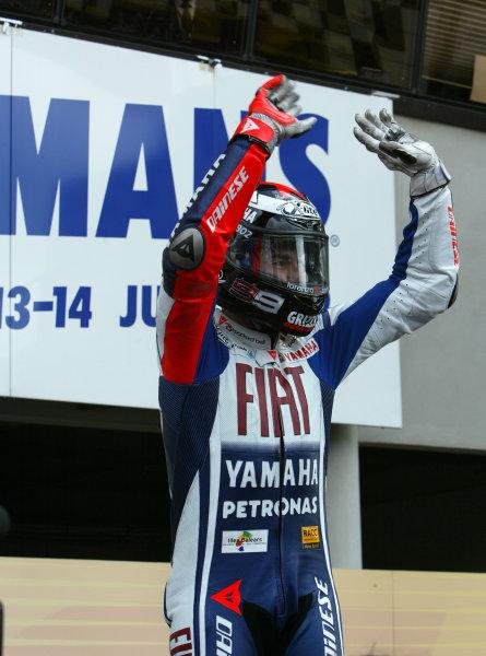 Le Mans, France. 16th - 17th May 2009.Jorge Lorenzo Fiat Yamaha Team.World Copyright: Martin Heath/LAT Photographicref: BPI_Moto 8a5l