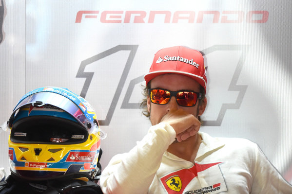 Fernando Alonso (ESP) Ferrari. Formula One World Championship, Rd1, Australian Grand Prix, Practice, Albert Park, Melbourne, Australia, Friday 14 March 2014.
