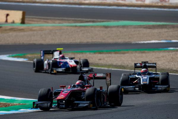 2017 FIA Formula 2 Round 10. Circuito de Jerez, Jerez, Spain. Sunday 8 October 2017. Nobuharu Matsushita (JPN, ART Grand Prix).  Photo: Zak Mauger/FIA Formula 2. ref: Digital Image _56I7702