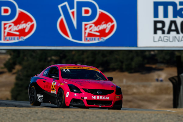 IMSA Continental Tire SportsCar Challenge Mazda Raceway Laguna Seca 240 Mazda Raceway Laguna Seca Monterey, CA USA Friday 22 September 2017 44, Nissan, Altima, ST, Sarah Cattaneo, Owen Trinkler World Copyright: Jake Galstad LAT Images