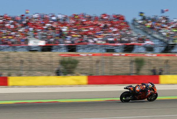 2017 MotoGP Championship - Round 14 Aragon, Spain. Saturday 1 January 2000 Pol Espargaro, Red Bull KTM Factory Racing World Copyright: Gold and Goose / LAT Images ref: Digital Image 14173