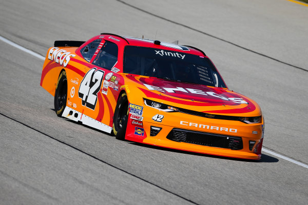 NASCAR XFINITY Series TheHouse.com 300 Chicagoland Speedway, Joliet, IL USA Friday 15 September 2017 Kyle Larson, ENEOS Chevrolet Camaro World Copyright: Barry Cantrell LAT Images