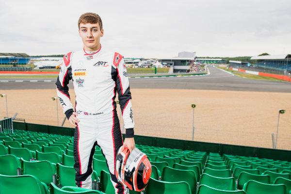 2017 GP3 Series Round 3.  Silverstone, Northamptonshire, UK. Thursday 13 July 2017. George Russell (GBR, ART Grand Prix).  Photo: Zak Mauger/GP3 Series Media Service. ref: Digital Image _56I6401