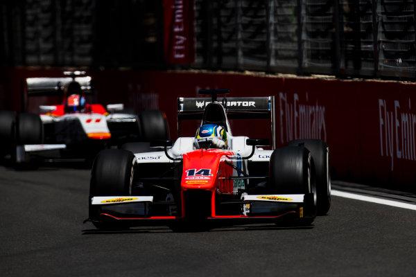 2017 FIA Formula 2 Round 4. Baku City Circuit, Baku, Azerbaijan. Friday 23 June 2017. Sergio Sette Camara (BRA, MP Motorsport)  Photo: Zak Mauger/FIA Formula 2. ref: Digital Image _54I9638