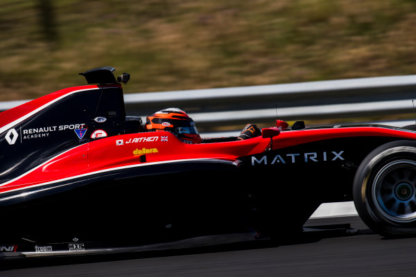 2017 GP3 Series Test 4.  Hungaroring, Budapest, Hungary. Wednesday 7 June 2017. Jack Aitken (GBR, ART Grand Prix)  Photo: Zak Mauger/GP3 Series Media Service. ref: Digital Image _56I2348