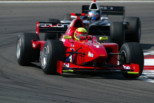 2004 Formula 3000 Championship (F3000) Nurburgring, Germany.29th May 2004. Can Artam (Coloni F3000). ActionWorld Copyright: LAT Photographic ref: Digital Image Only