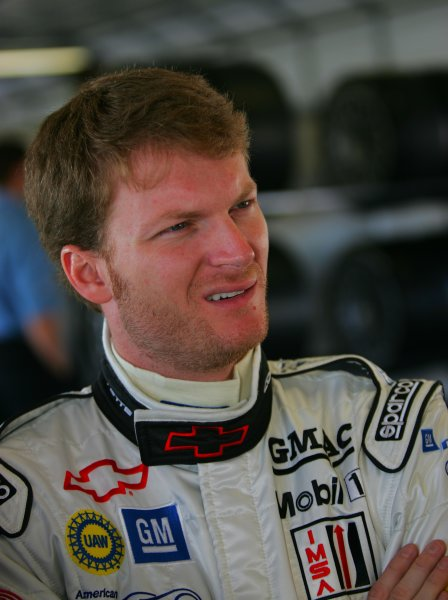 2004 American Le Mans Series (ALMS)Infineon Grand Prix of Sonoma, Sears Point. 16th - 18th July. Dale Earnhardt Jr.World Copyright: Richard Dole/LAT Photographicref: Digital Image Only