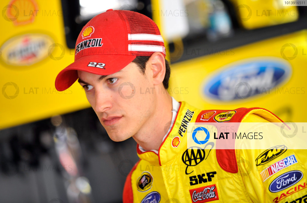 11-13 April, 2013, Fort Worth, Texas USA Joey Logano ©2013, Nigel Kinrade LAT Photo USA