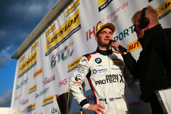 2016 British Touring Car Championship, Brands Hatch, 1st-2nd April 2017, Colin Turkington (GBR) Team BMW BMW 125i M Sport World copyright. JEP/LAT Images