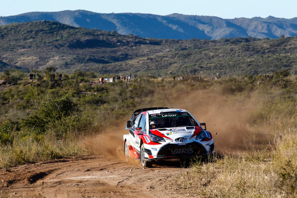2017 FIA World Rally Championship, Round 05, Rally Argentina, April 27-30, 2017, Jari-Matti Latvala, Toyota, Action, Worldwide Copyright: McKlein/LAT