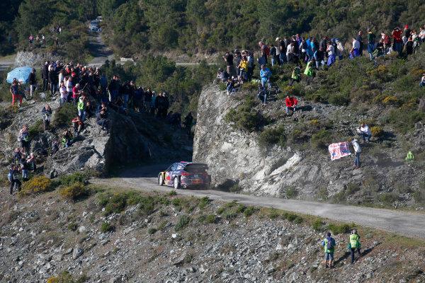 2017 FIA World Rally Championship, Round 04, Rallye de France, Tour de Corse, April 06-09, 2017, Sebastien Ogier, Ford, action Worldwide Copyright: McKlein/LAT