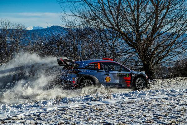 2017 FIA World Rally Championship,  Round 01, Rally Monte Carlo,  January 18-22, 2017,  Dani Sordo/Marc Marti (Hyundai i20 Coupe WRC) Worldwide Copyright: McKlein/LAT