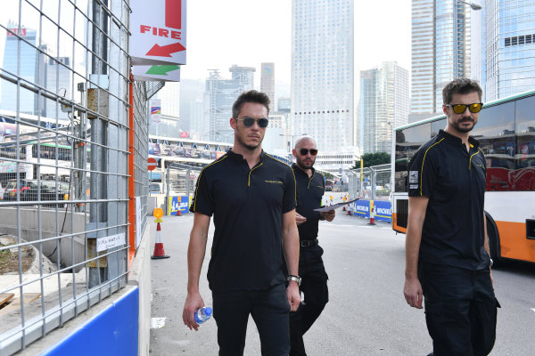 2017/2018 FIA Formula E Championship. Riound 1 - Hong Kong, China. Thursday 21 July 2016.Andre Lotterer (BEL), TECHEETAH, Renault Z.E. 17 Photo: Mark Sutton/LAT/Formula E ref: Digital Image DSC_0029