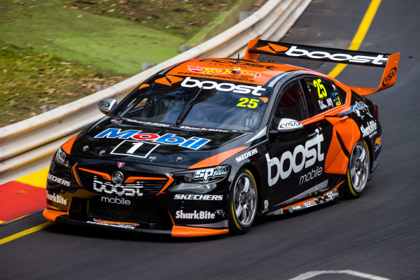 2018 Supercars Championship Adelaide 500, Adelaide, South Australia, Australia Friday 2 March 2018  #25 James Courtney (Aust) Mobil 1 Boost Mobile Racing  World Copyright: Dirk Klynsmith / LAT Images ref: Digital Image 2018VASC01-03262