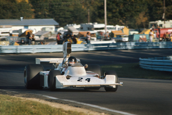 Watkins Glen, New York, USA. 4-6 October 1974. James Hunt, Hesketh 308 Ford, 3rd position. Action. Ref: 74USA27. World Copyright: LAT Photographic