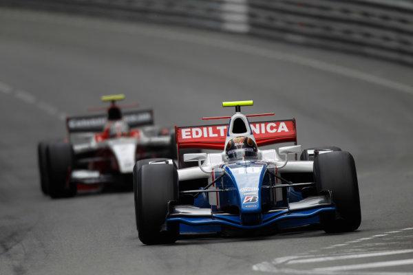 Monte Carlo, Monaco. 15th May 2010. Saturday Race.Davide Valsecchi (ITA, iSport International). Action. Photo: Andrew Ferraro/GP2 Media Service.Ref: _Q0C7404 jpg