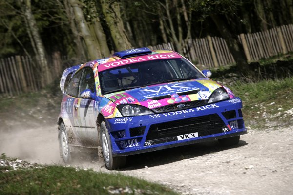 2007 Goodwood Festival of Speed Press Day  Goodwood, England. 21st March 2006  Colin McRae, Ford Focus WRC. World Copyright: Gary Hawkins/LAT Photographic  ref: Digital Image Only