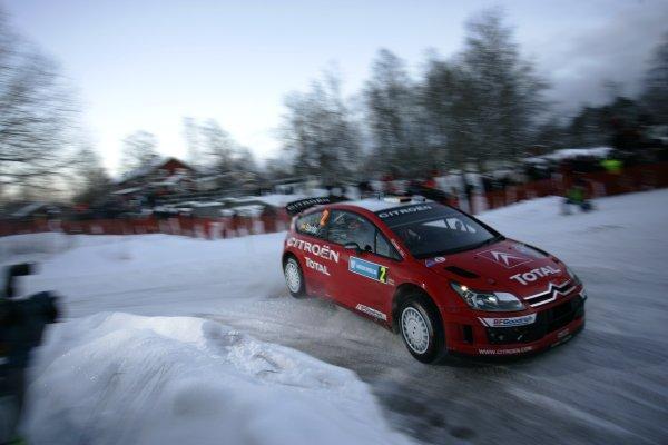 2007 FIA World Rally Championship,Round 2 Swedish Rally 8th-11th February 2007,Danni Sordo, Citroen, action.Worldwide Copyright McKlein/LAT.