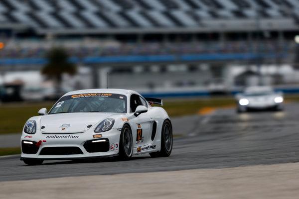5-8 January, 2017, Daytona Beach, Florida USA 12, Porsche, Porsche Cayman GT4, GS, Cameron Cassels ?2017, Jake Galstad LAT Photo USA