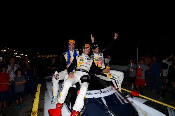 19-21 March, 2015, Sebring, Florida USA 5, Chevrolet, Corvette DP, P, Joao Barbosa, Christian Fittipaldi, Sebastien Bourdais ©2015, Richard Dole LAT Photo USA