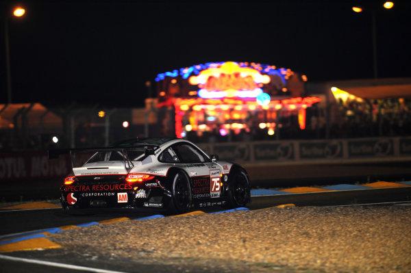 Circuit de La Sarthe, Le Mans, France. 13th - 17th June 2012. Thursday QualifyingAbdulaziz Alfaisal/Bret Curtis/Sean Edwards, Prospeed Competition, No 75 Porsche 911 RSR (997). Photo: Jeff Bloxham/LAT Photographicref: Digital Image DSC_2041