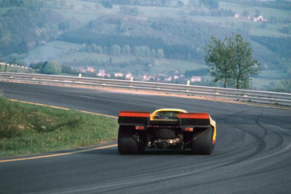 1970 Spa Francorchamps 1000 kms. Spa Francorchamps, Belgium. 17th May 1970. Rd 6. Hans Laine/Gijs van Lennep (Porsche 917K), 5th position, action.  World Copyright: LAT Photographic.