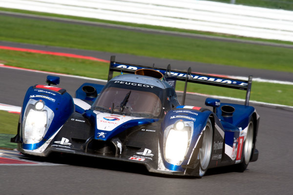 10th/11th&12th September 2011Silverstone, Northants.Pagenaud / Bourdais (#7 Peugeot Sport Total Peugeot 908, LMP1). Action.Image Copyright Malcolm Griffiths/LATDigital Image _H0Y3134 jpg