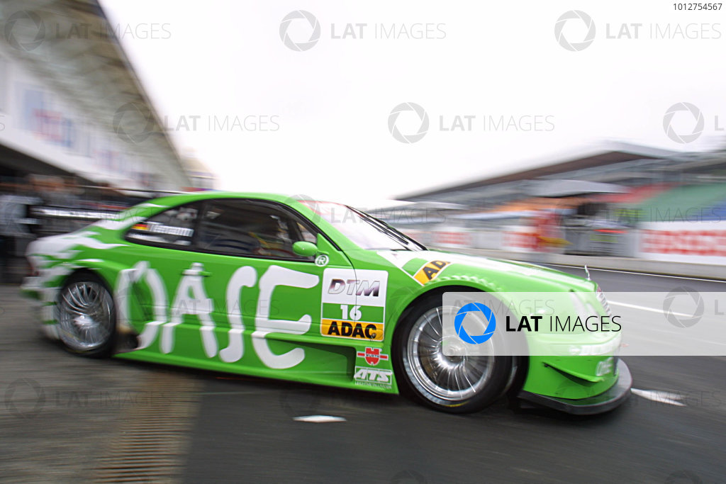 2002 DTM Championship.Hockenheim, Germany. 20-21 April 2002.Marcel Tiemann, Team Oase AMG-Mercedes.World Copyright: Spinney/LAT Photographic.Ref.: 8 5mb Digital Image Only.