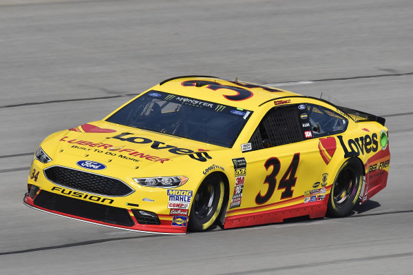 #34: Michael McDowell, Front Row Motorsports, Ford Fusion Love's/ Luber Finer