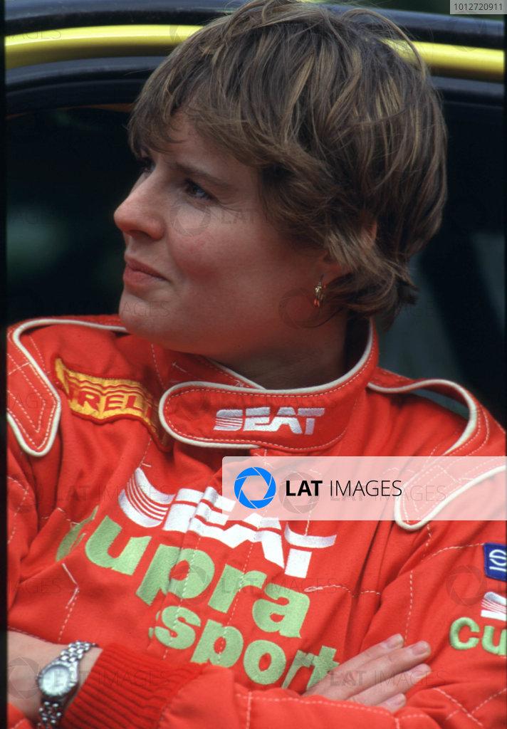 1999 British Rally Championship.Barbara Armstrong (Seat).World - LAT Photographic