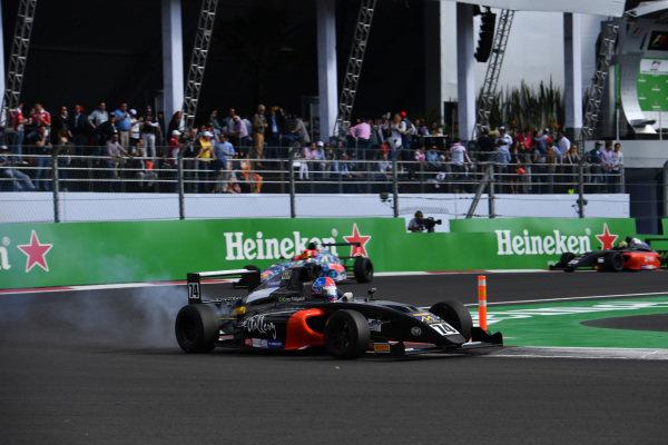 Enzo Fittipaldi (BRA) at Formula 4 Series, Circuit Hermanos Rodriguez, Mexico City, Mexico, 29 October 2016.