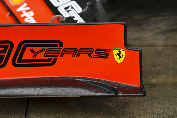 Front wing on Ferrari SF90