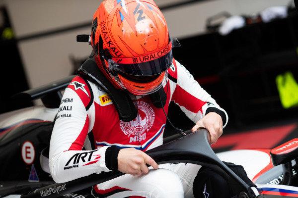 AUTODROMO NAZIONALE MONZA, ITALY - SEPTEMBER 06: Nikita Mazepin (RUS, ART Grand Prix) during the Monza at Autodromo Nazionale Monza on September 06, 2019 in Autodromo Nazionale Monza, Italy. (Photo by Joe Portlock / LAT Images / FIA F2 Championship)