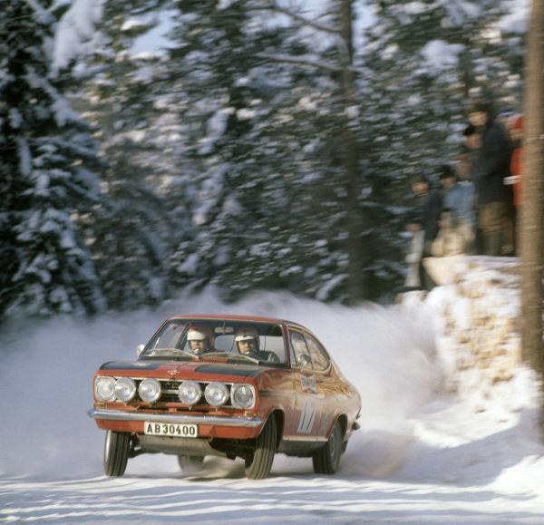Ove Eriksson / Hans Johansson, Opel Kadett coupe.