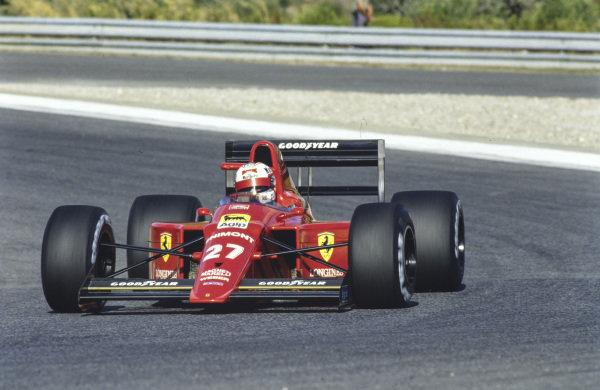 Nigel Mansell, Ferrari 640.
