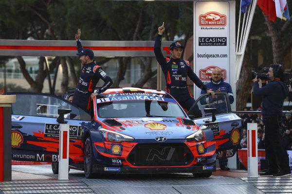 Thierry Neuville (BEL), Nicolas Gilsoul (BEL), Hyundai World Rally Team, Hyundai i20 Coupe WRC 2020
