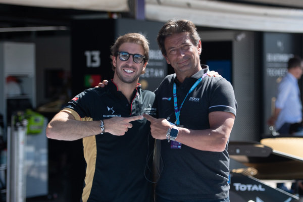 Antonio Felix da Costa (PRT), DS Techeetah, with guest